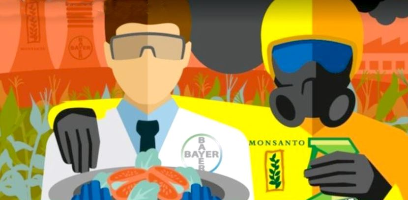Image: Monsanto name to be wiped as BAYER consumes the evil corporation, creating the world's largest chemical giant with a history of crimes against humanity
