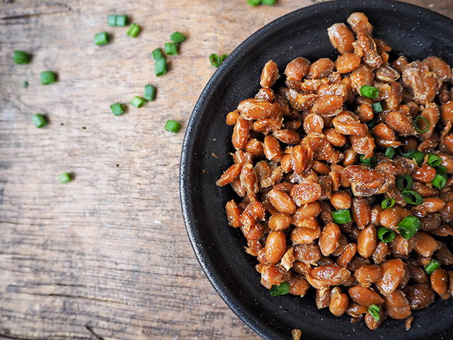 Image: Natto, a fermented food from Japan, has enzymes that help prevent heart attacks and blood clots