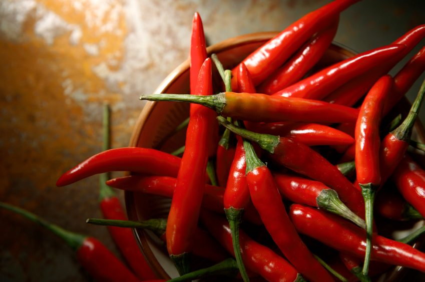 Image: Scientists look at the potential of red peppers for creating new bioactive compounds