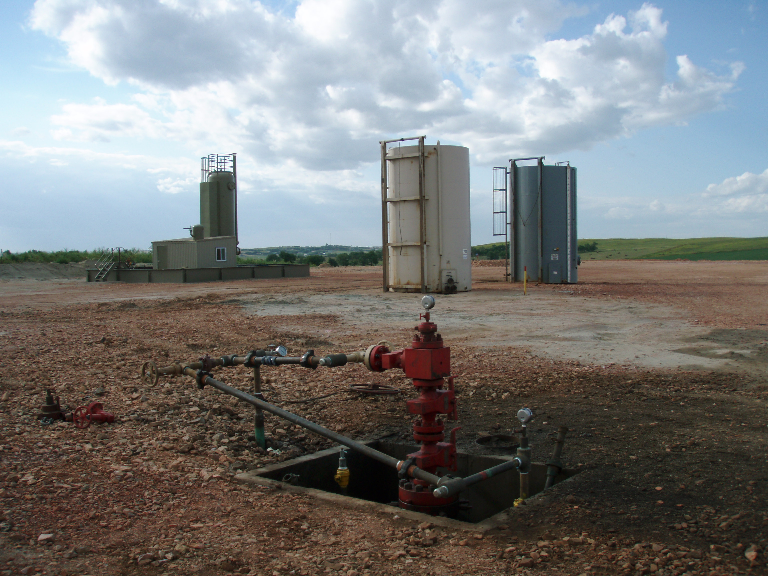 Image: Fracking is responsible for the earthquakes in Oklahoma; they are triggered by the injection of wastewater deep into the ground