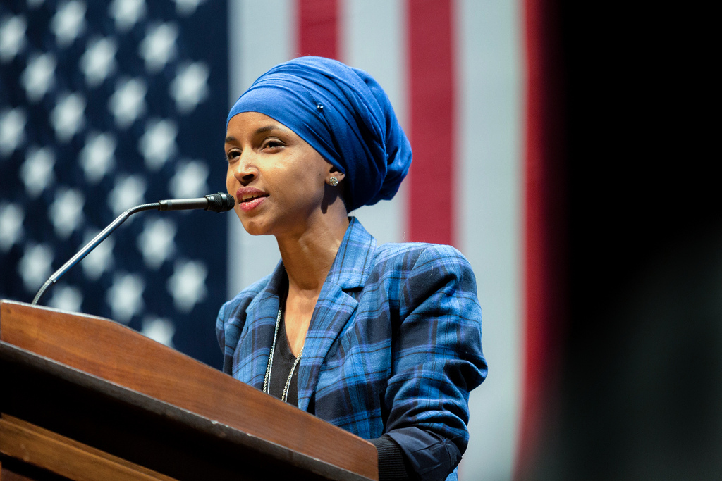 Image: It's time for radical, Israel-hating Leftist Ilhan Omar to resign from Congress for racist attacks on Jewish people