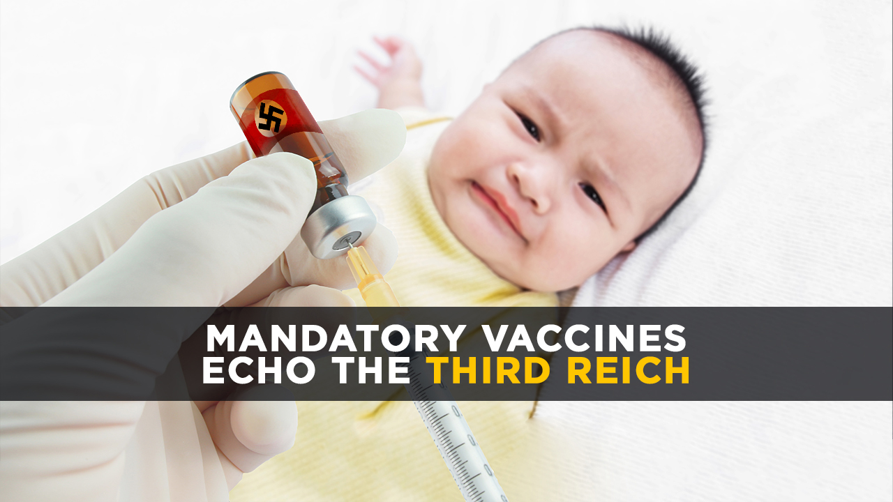 """Image: A serious question: When will the first """"vaccine enforcers"""" be shot by parents defending their children against the felony assault of forced immunizations?"""