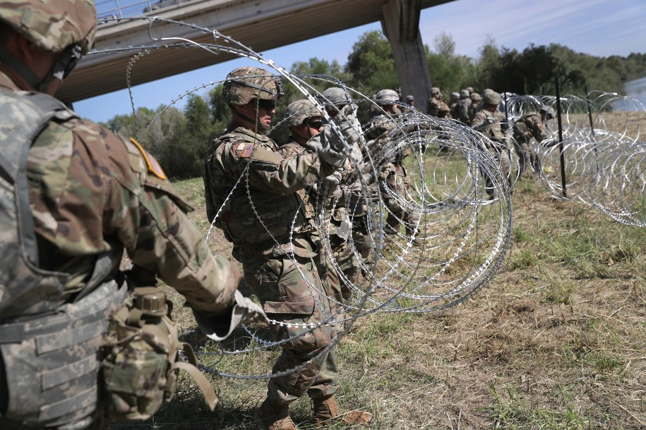 Image: Dem governors pull National Guard from border, opening America to a wave of new invasions by illegals… this is WAR against America