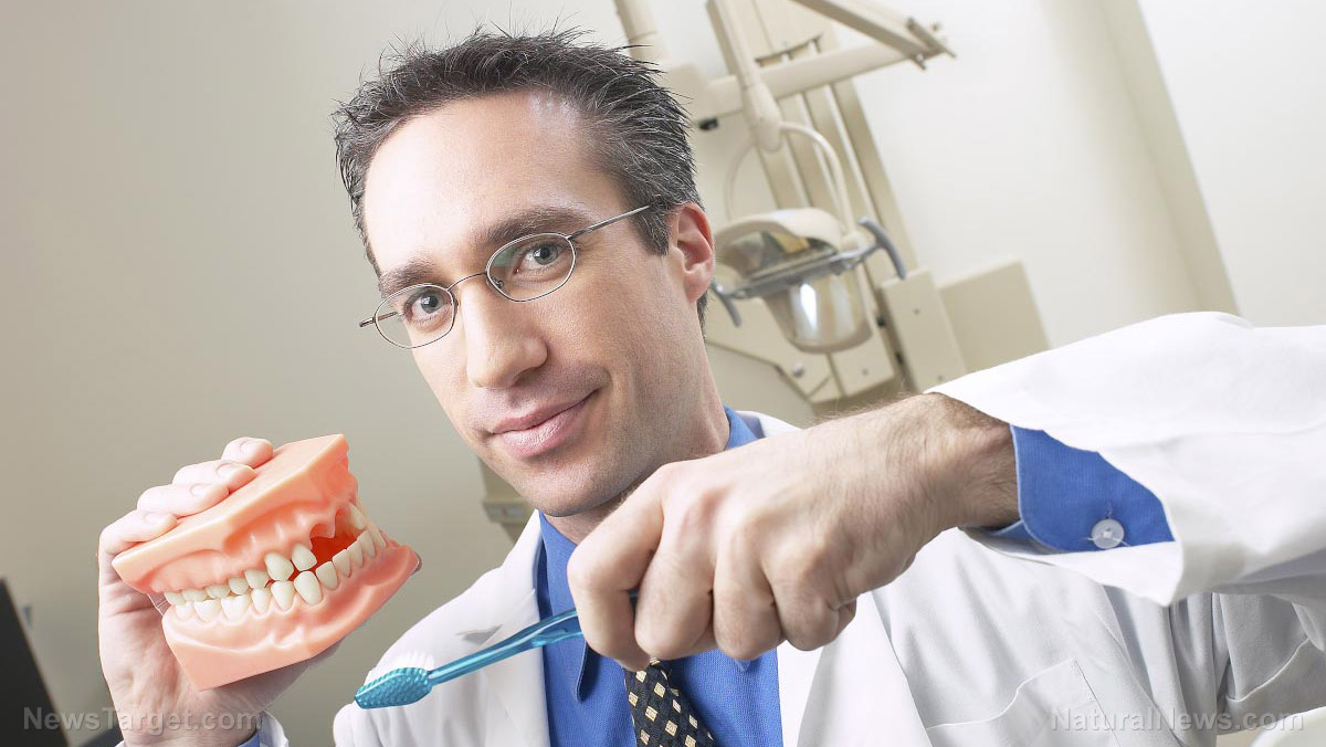 Image: Vaccines to invade dental offices as fanatical vaccine pushers claim a shot can replace brushing your teeth