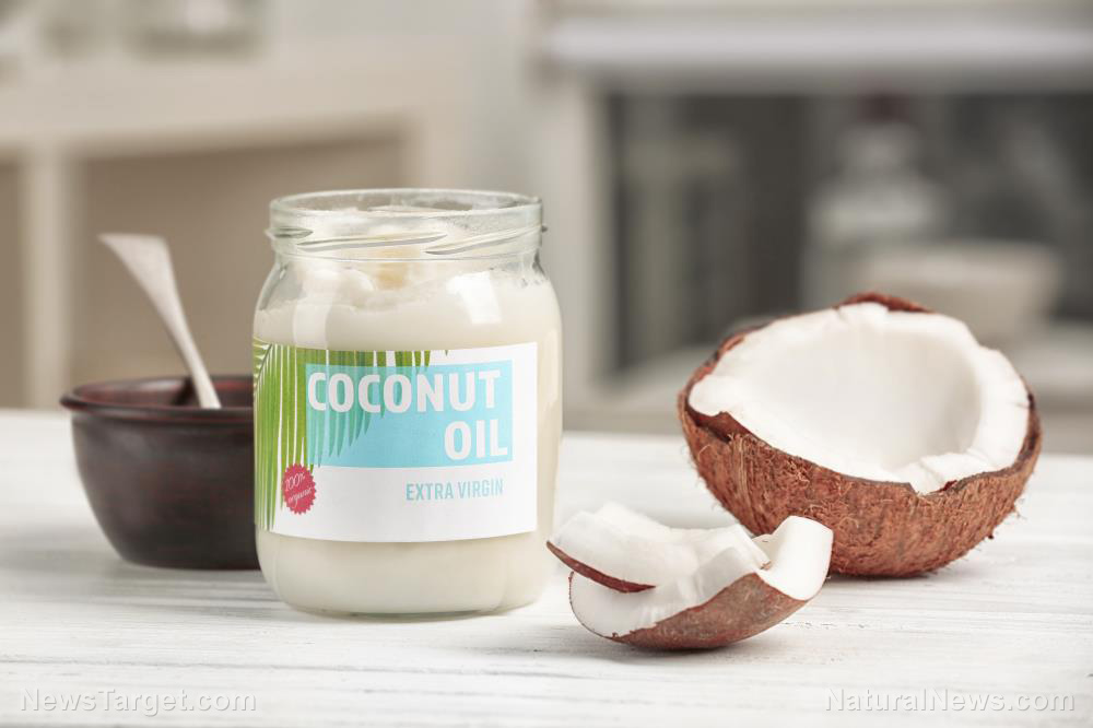 Image: The neuroprotective benefits of coconut oil