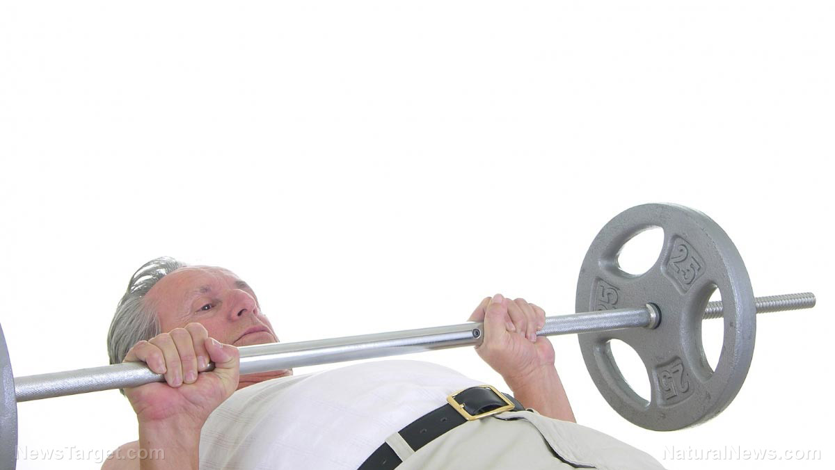 Image: Elderly people should try weightlifting to prevent frailty, health experts recommend