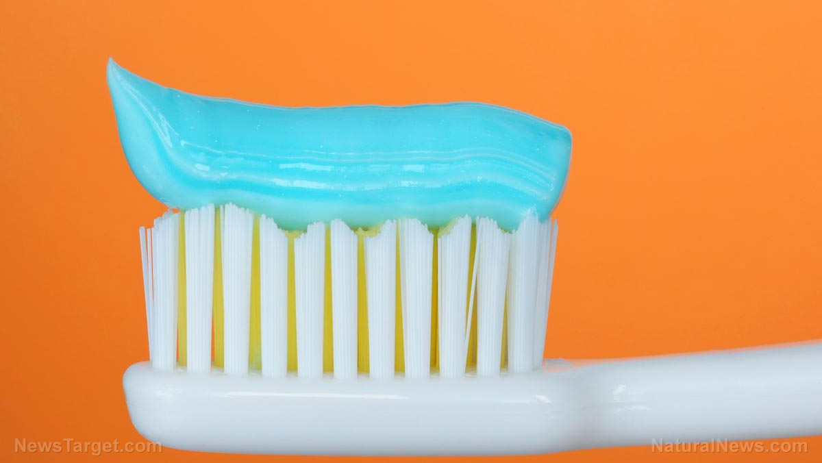 Image: Triclosan and other chemicals from toothpastes accumulate on nylon bristles, exposing users to uncontrolled release of the antimicrobial chemical