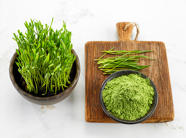 Image: Barley grass is one of the best green superfoods for improving gut health
