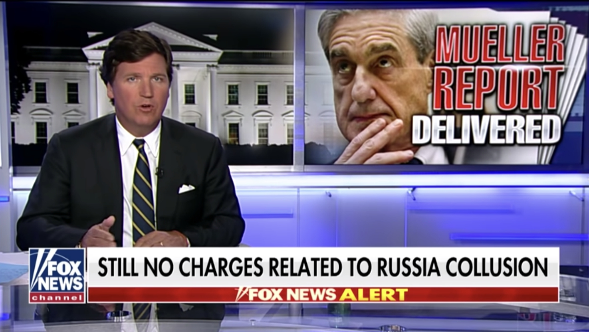 Image: Russia hoax COLLAPSES: Not a single American charged with collusion with Russia; left-wing media has been LYING all along