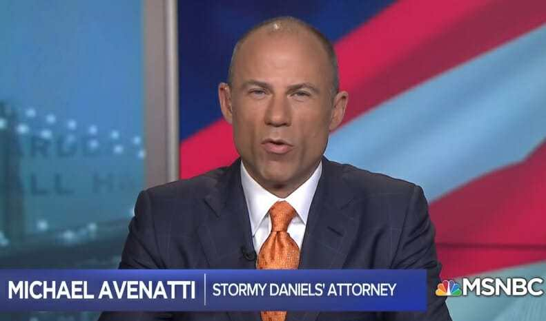 Image: BREAKING: Michael Avenatti, former attorney of Stormy Daniels who tried to destroy Trump, charged with extortion threats against Nike