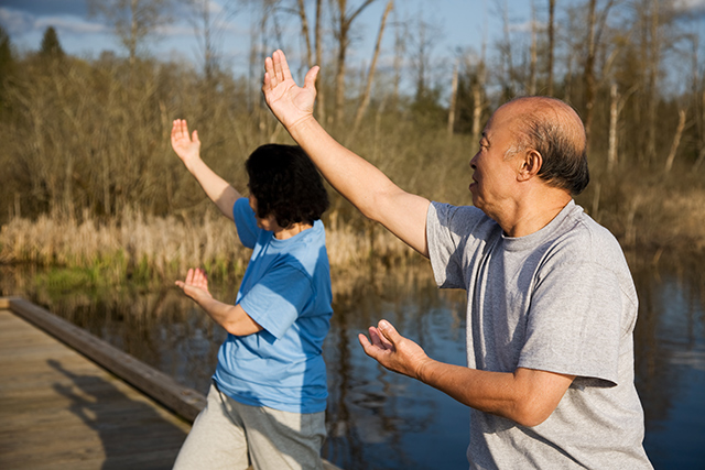 Image: Tai chi found to benefit the brains of older people