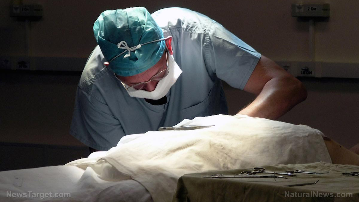Image: Organ donor? Organs are cut out of patients' bodies even while they are conscious and aware, horrifying new science study reveals