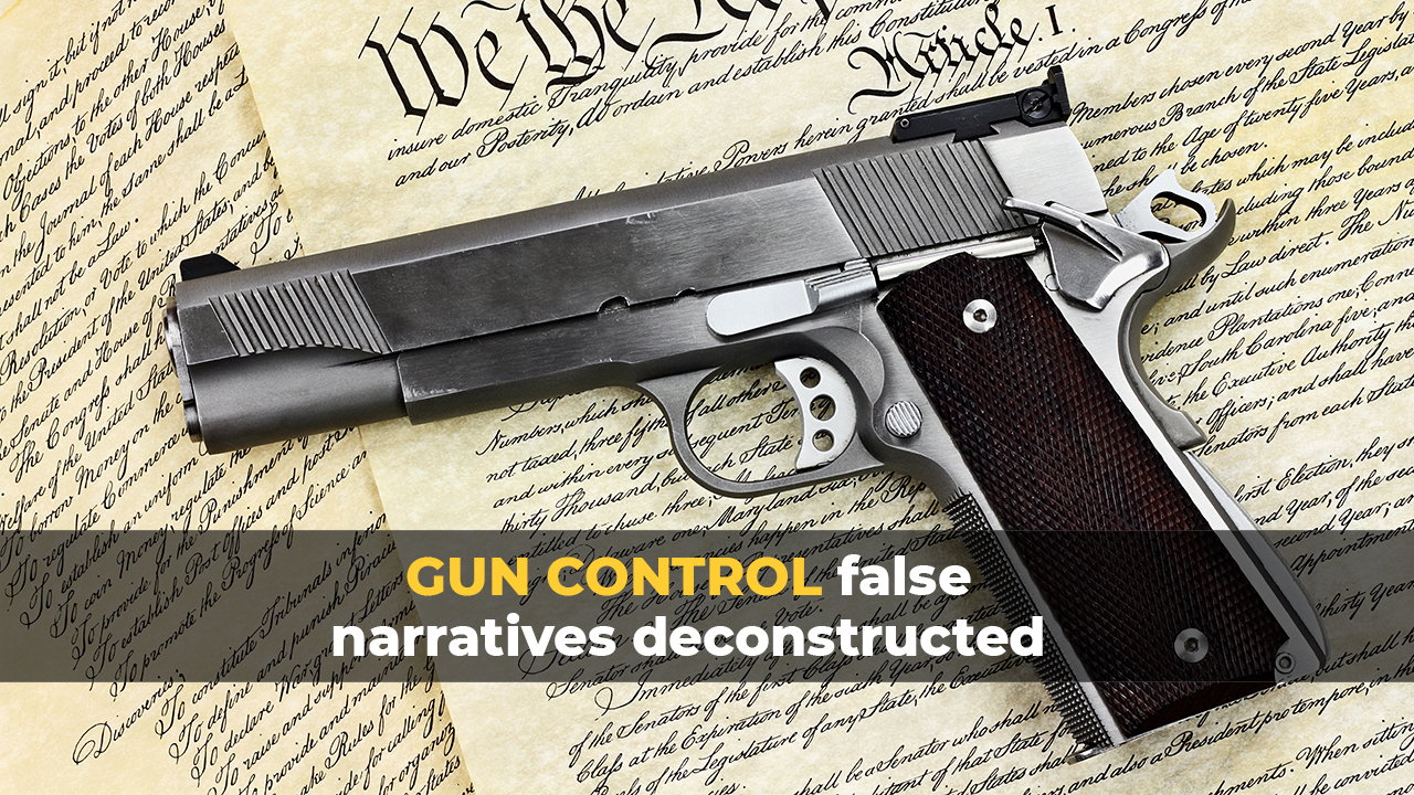 Image: Study: Weapon magazine bans do NOTHING to decrease fatal shootings, which also proves that Democrats just want to disarm us, period