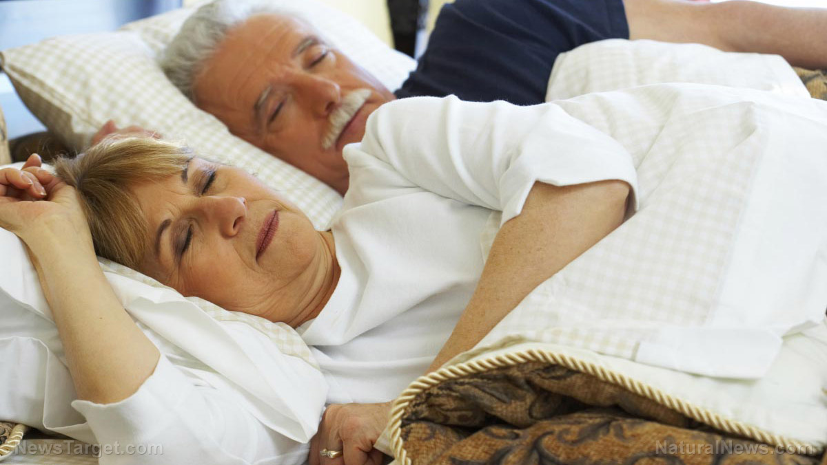 Image: Older people who don't get a good night's sleep are more likely to develop Alzheimer's, says study