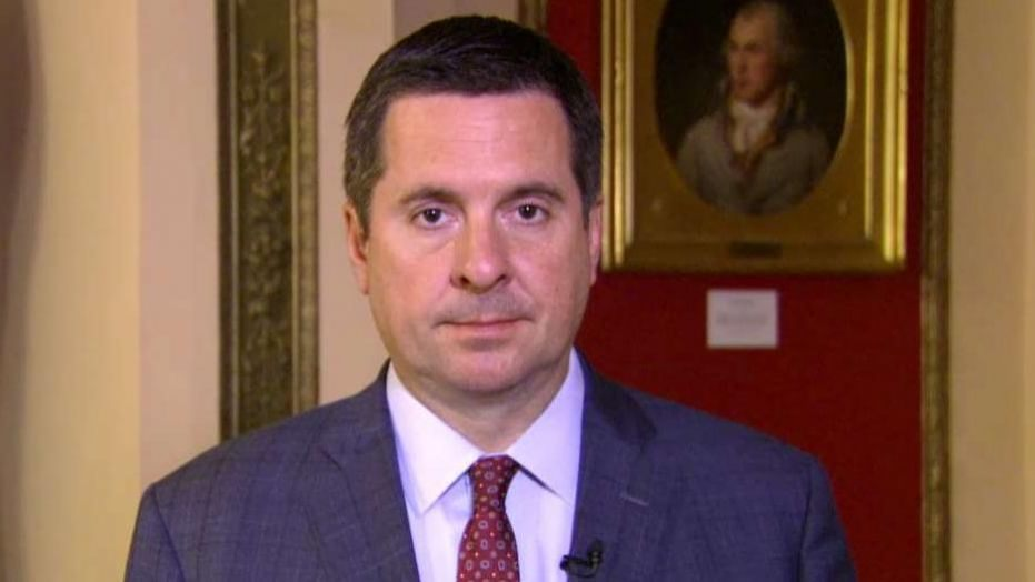 "Image: Devin Nunes preparing to drop the HAMMER on Deep State ""Spygate"" conspirators who plotted coup against POTUS Trump"