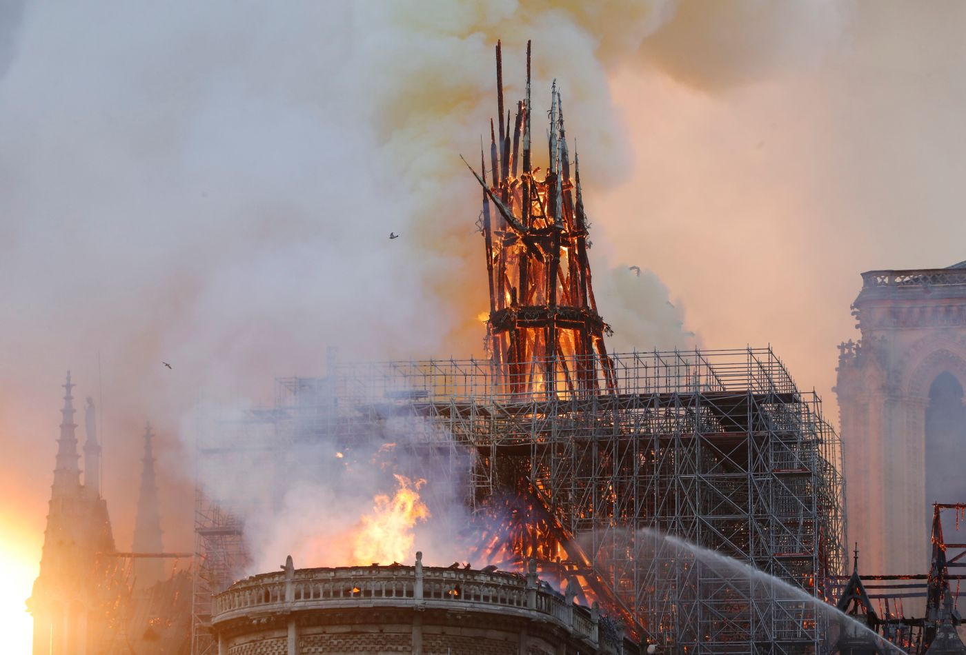 Image: Early, unconfirmed reports claim Notre Dame fire in Paris was intentional: Is this part of the ongoing war against Christianity?