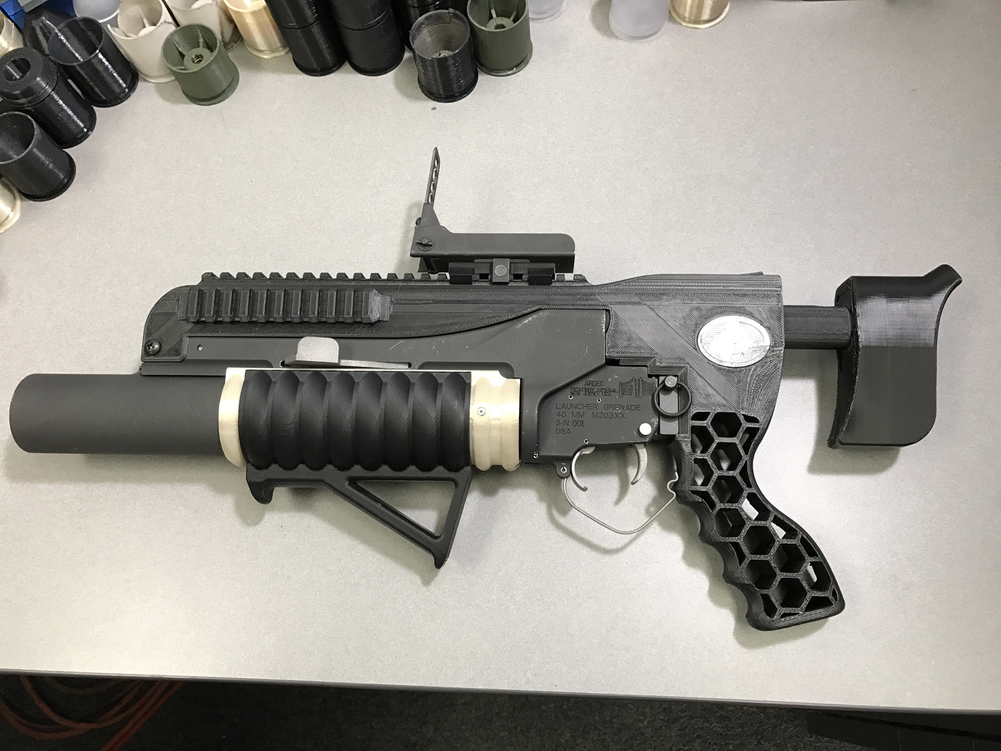 "Image: Lying mainstream media claims 3D printed gun PROPS are ""3D-printed guns"" even though they don't function"