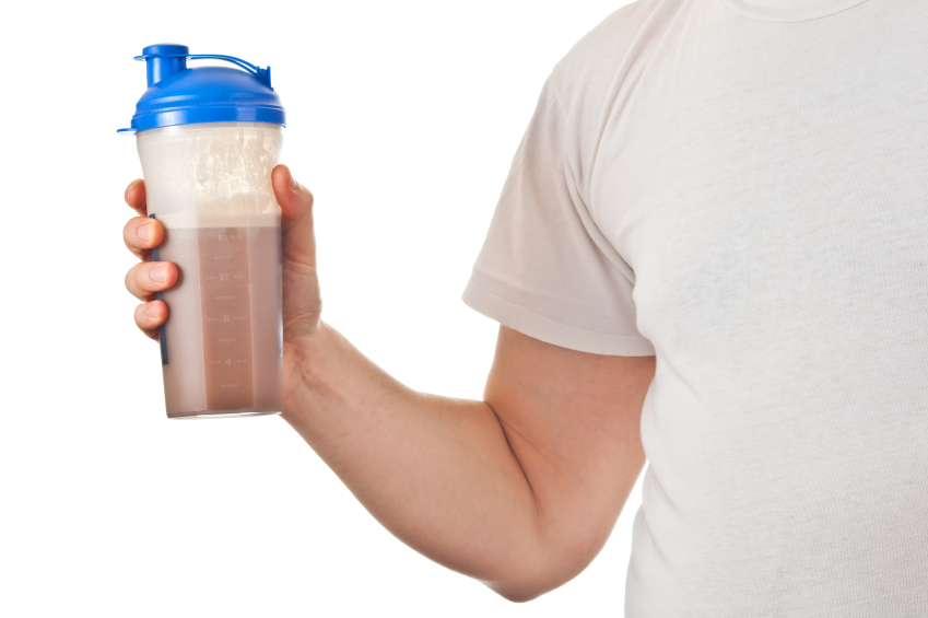 Image: Taking whey supplements after breakfast can boost amino acid absorption