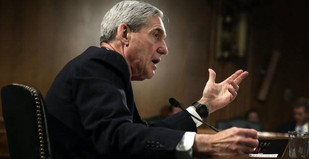 Image: Why does Mueller get to slink away after lying about and smearing POTUS Trump? Time for him to be hauled before Congress or arrested