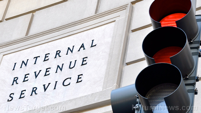 Image: The IRS actually works for Satan: Tax-exempt status granted to Satanic orgs, but denied to Christian groups