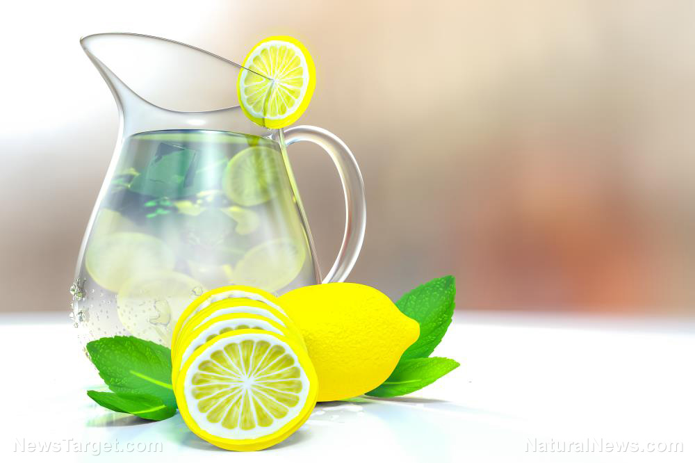 Image: Zest up your day – and your health – by drinking lemon water