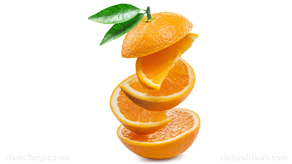 Image: The antimicrobial and antioxidant potential of folded orange oils