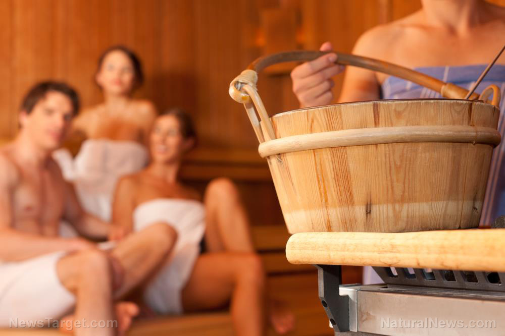 Image: A trip to the sauna may help your heart, according to a new study