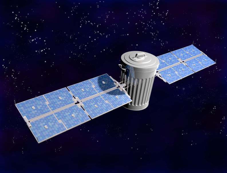 Image: Rethink satellite production: Using affordable, sustainable materials can minimize space junk and address engineering problems