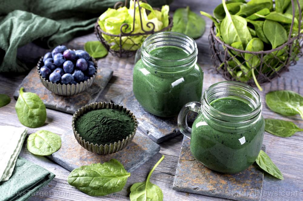 Image: Green, grassy and good for you: What are the health benefits of greens powders?