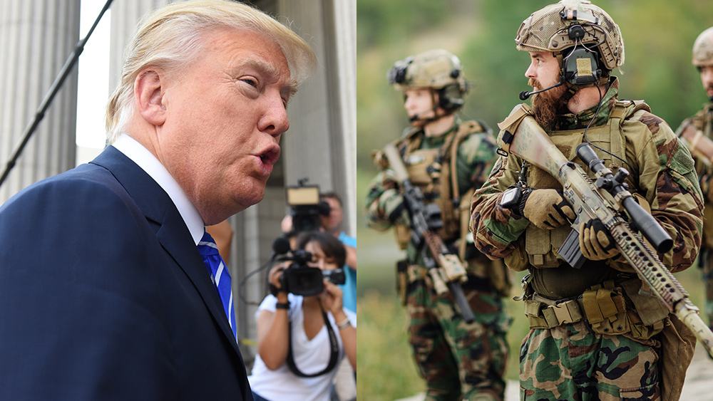Image: BREAKING – The fight for America begins: Trump to invoke Insurrection Act that authorizes National Guard, military action inside U.S. borders