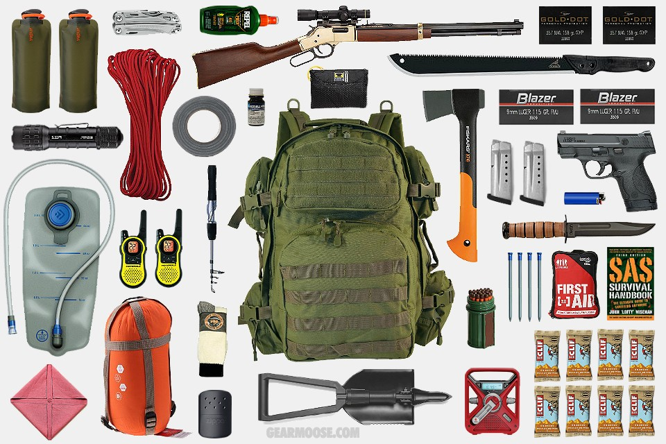 Image: Prepper hacks: How to make modular bug-out bags
