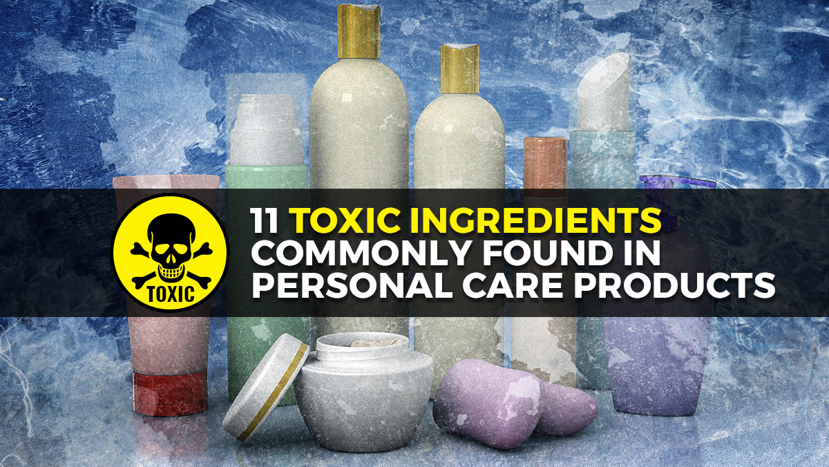 Image: The dangerous ingredients in common personal care products