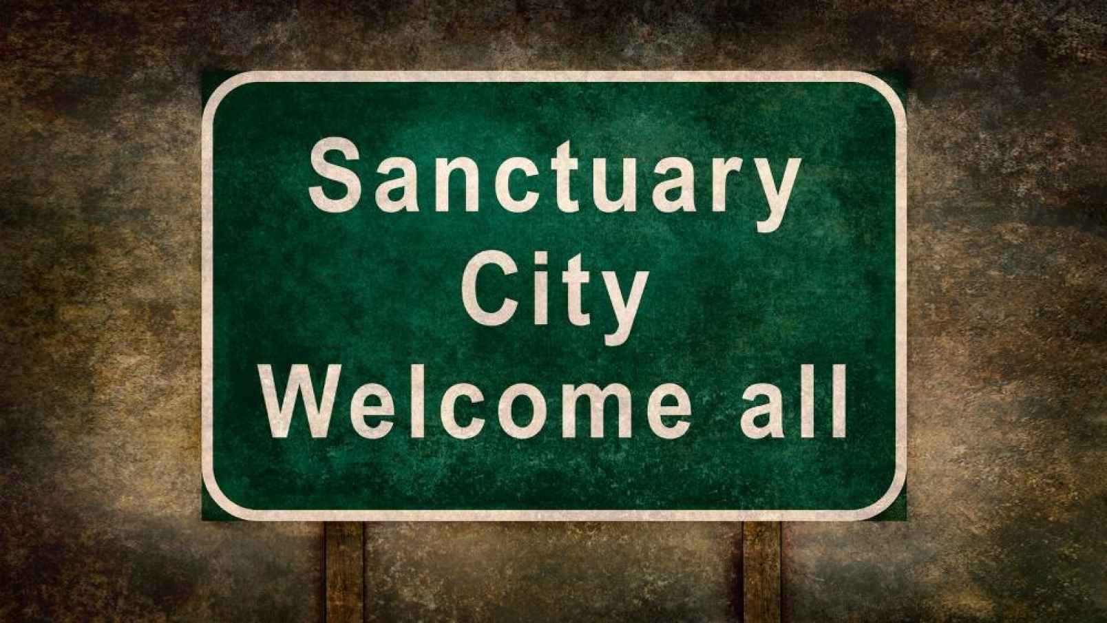 Image: Sanctuary cities: The blood is on the left's hands