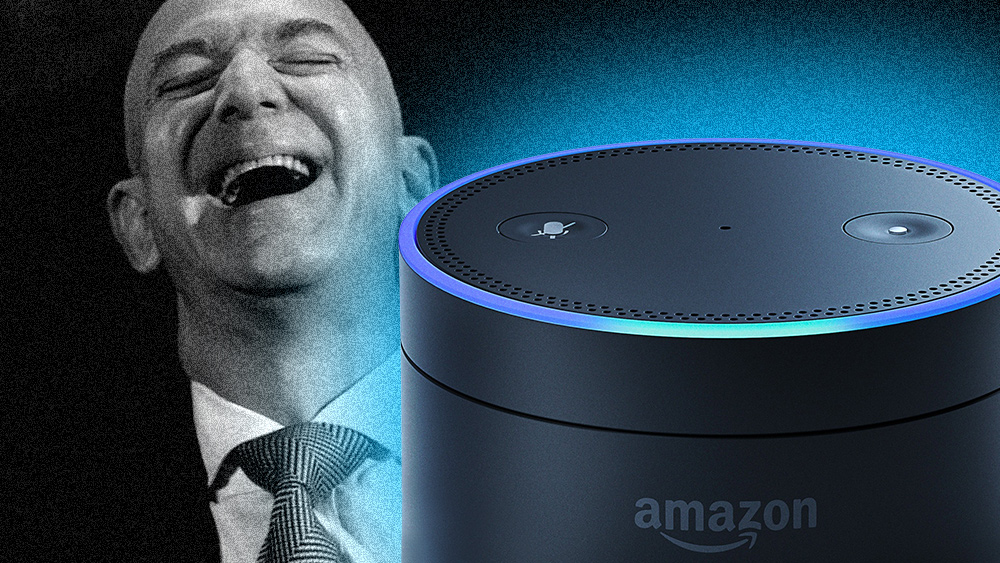 Electronic STALKERS: Amazon and Google are using smart home data to track and record your habits