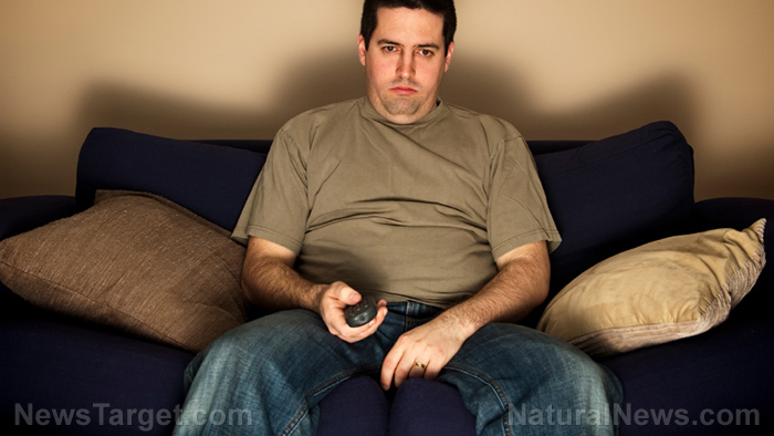 Image: Get off your bum: Sitting, watching TV for two or more hours per day raises risk of colorectal cancer