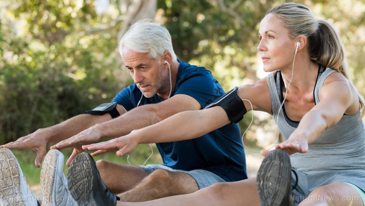 Image: Physical fitness equals brain fitness for older men, according to study
