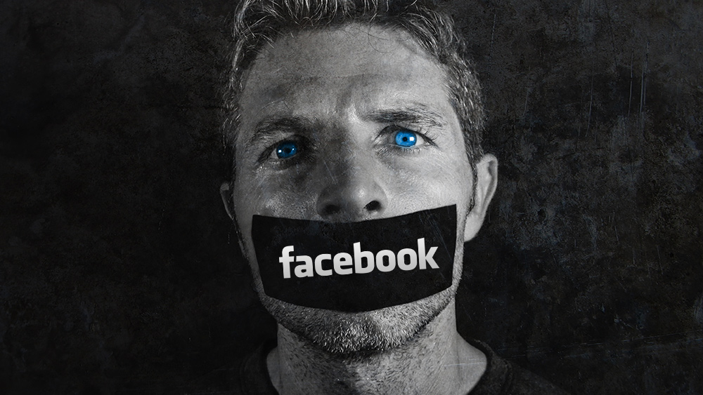 "Image: Health Ranger blasts Facebook's ban of Natural News, says American Left creating Soviet-style society where NO ONE can question ""official"" narratives"