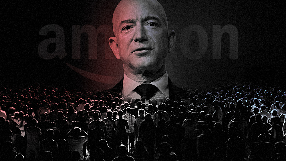 Image: Trump is going after Big Tech's evil monopolies and censorship: Amazon.com now being targeted by the FTC