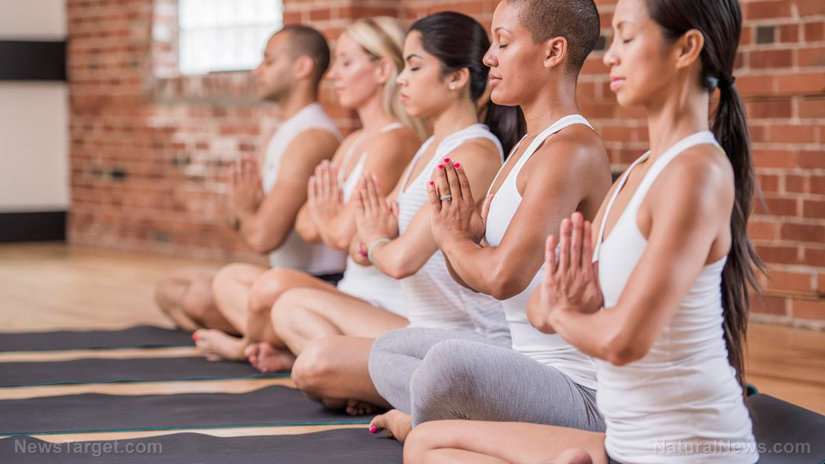 Image: Bikram yoga not so hot after all: New study finds yoga benefits are the same at room temperature as they are for the hot Bikram version