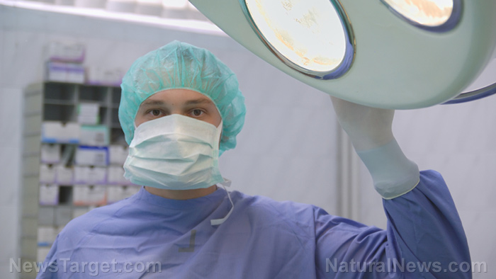 "Image: The medical establishment routinely lies about patients being ""brain dead"" in order to harvest their organs for the multi-billion dollar transplant industry"