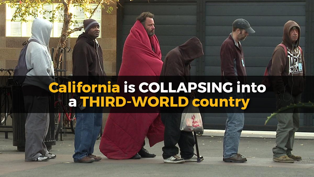 Image: Collapsifornia: Golden State set to spend billions of taxpayer funds to give free medical care to illegal aliens