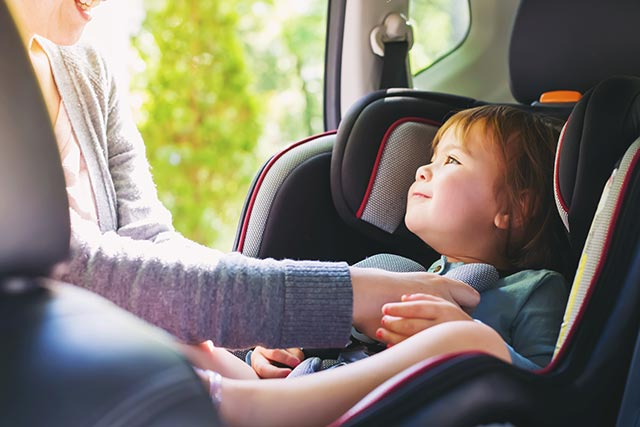 Image: Toxic flame retardants found in newly manufactured children's car seats