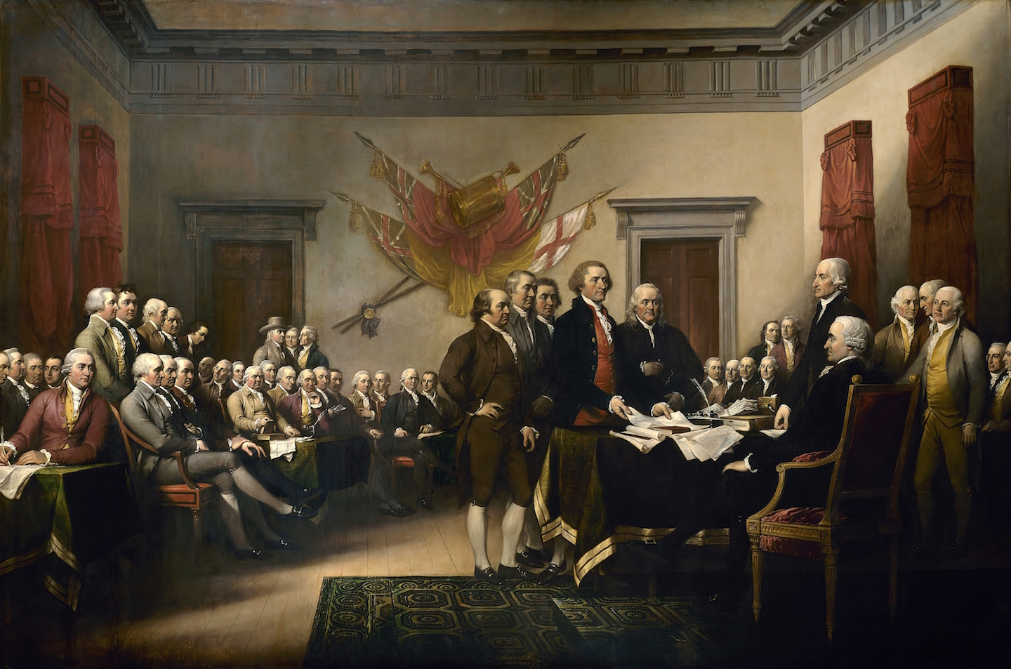 Image: Would the Founding Fathers be banned from social media?