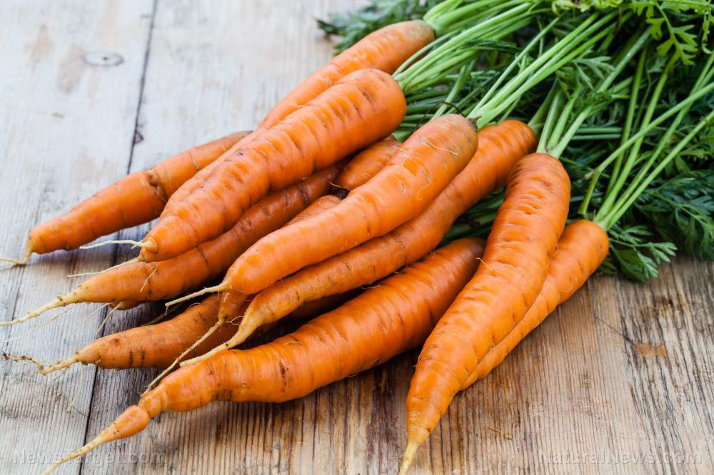Image: Eating for your eyes: Carrots deliver nutrients that preserve vision
