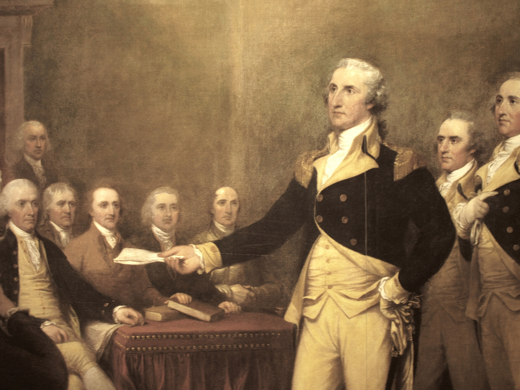 Image: Professors condemn Left's war on America after school board in San Francisco votes to eliminate mural depicting life of George Washington