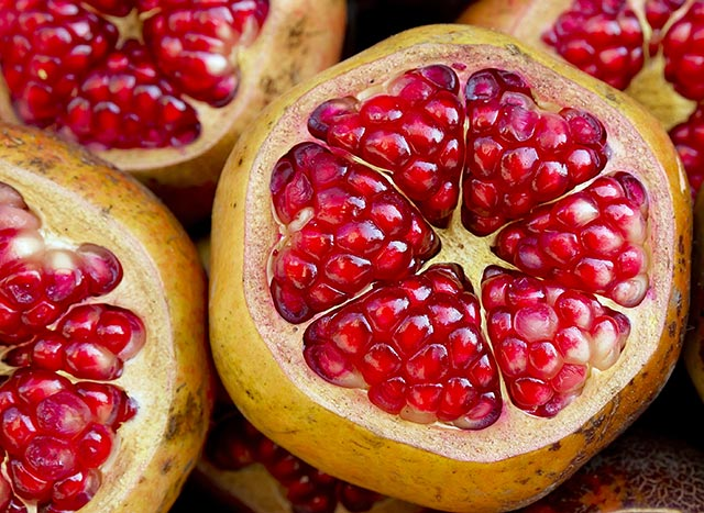Image: Memory is impaired by prescription blood pressure meds, but pomegranate juice improves blood pressure and cognitive function