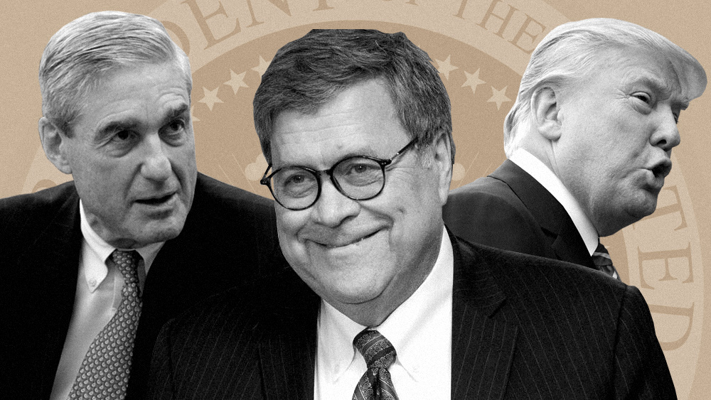 Image: The Robert Mueller IMPLOSION: It's time for Barr and Trump to prosecute the deep state traitors, or the American people will never regain any faith in the justice system