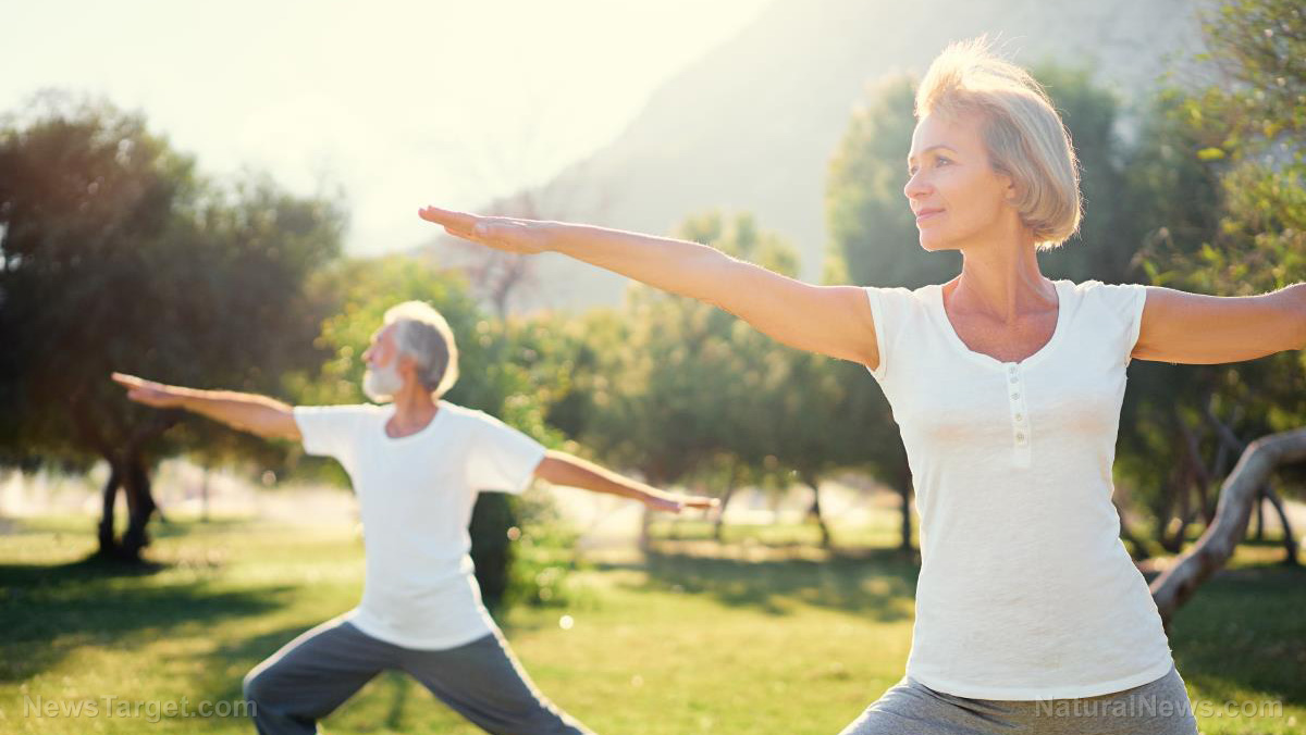 Image: Natural treatment for rheumatoid arthritis: Research shows yoga can relieve physical and psychological symptoms