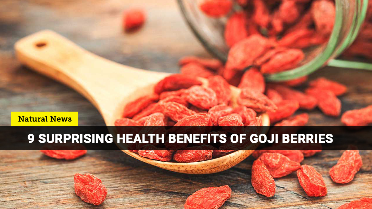 Image: Antioxidant-rich goji berries are superfruit snacks that offer a variety of health benefits
