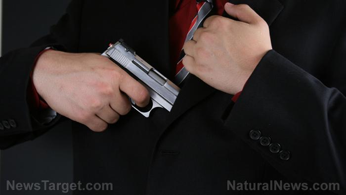 Image: Good guy with a gun stops a potential mass shooting at Springfield, Missouri Walmart